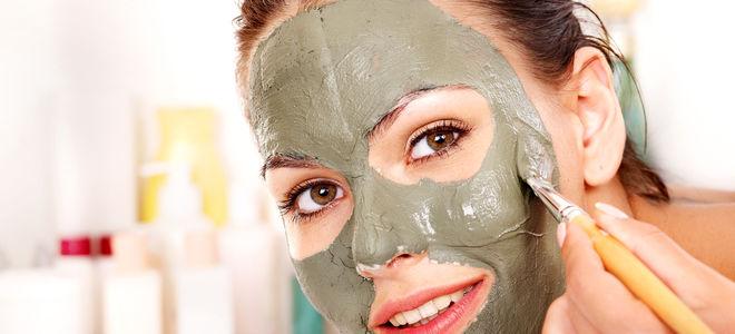 Глиняная маска для проблемной кожи лица