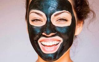 Чёрная маска от черных точек