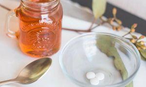 Маска с аспирином и медом