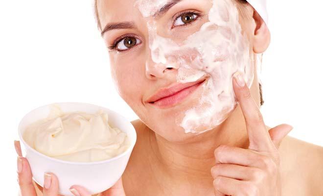 Домашние маски для лица на сметане