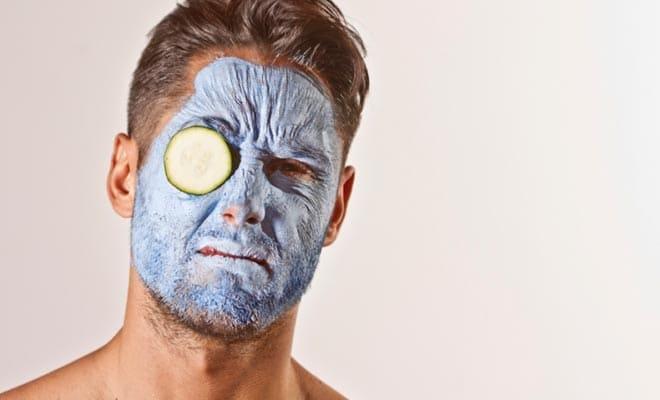 Мужские маски для лица
