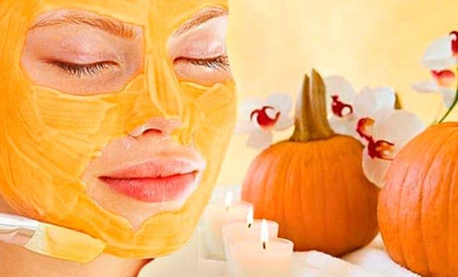 Тыквенные маски для лица