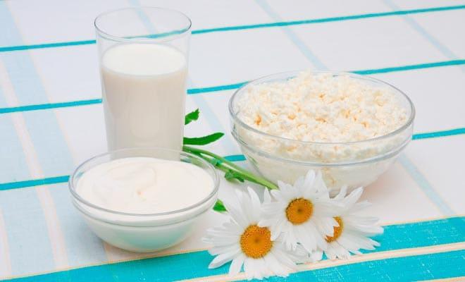 Молочные и кисломолочные маски