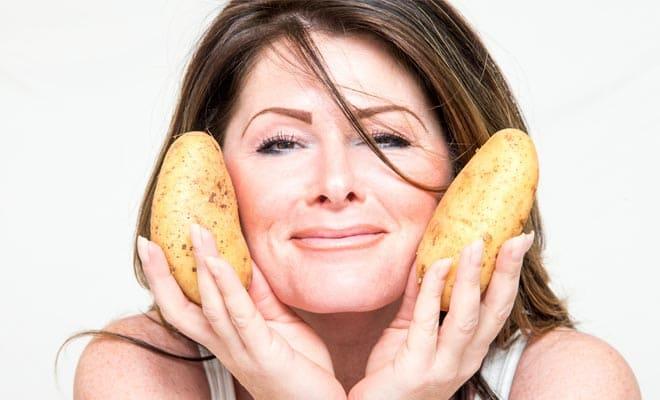 Картофельные маски для кожи лица