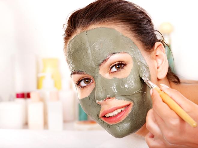 Глиняная маска для проблемной кожи